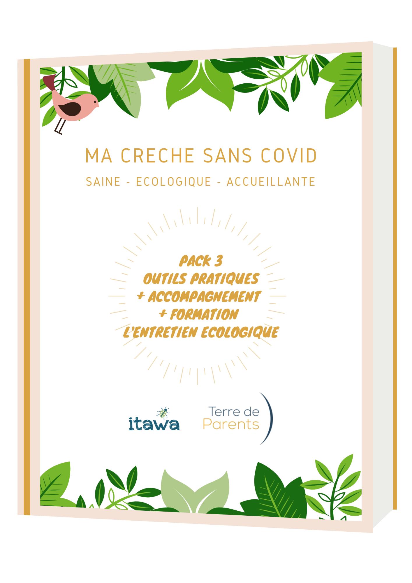 Pack formation - guide gestion écologique épidémie - Ma Crèche Sans Covid